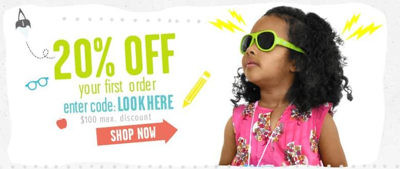 20% off – roupas infantis
