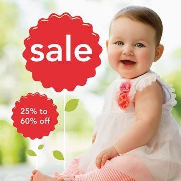 Carter's – 20% off nas compras acima de $40 – código: 062507